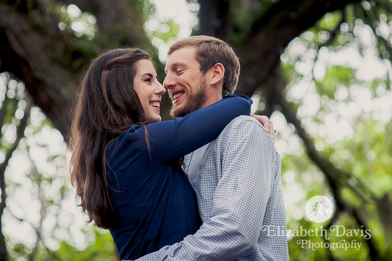 Tallahassee engagement photos by Elizabeth Davis Photography