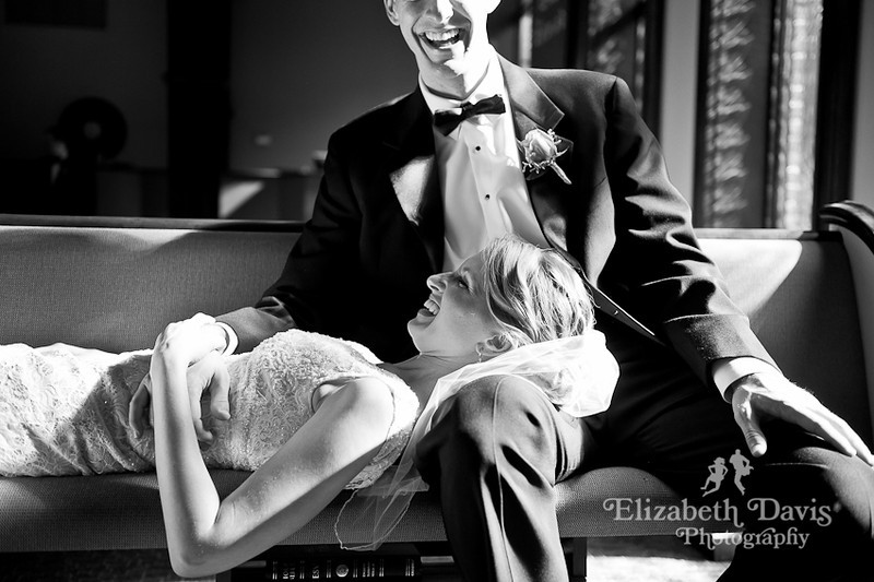 Tallahassee photographer bride and groom laughing