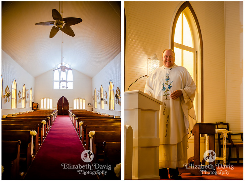 St. Lawrence Catholic Chapel on the water in Point Clear Alabama   Elizabeth Davis Photography