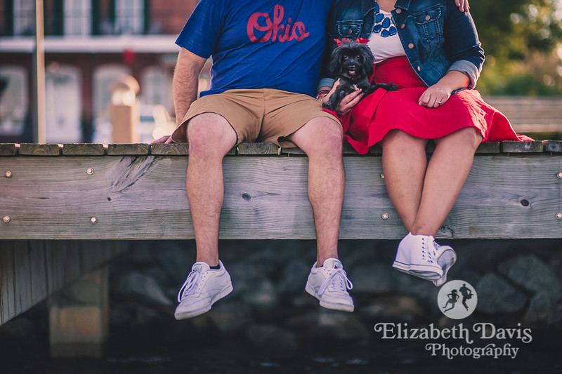 Apalachicola engagement session | fun, natural engagement photos by Elizabeth Davis Photography