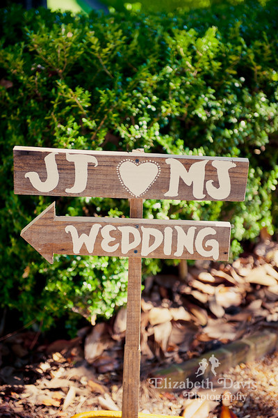 Tallahassee photography wedding sign