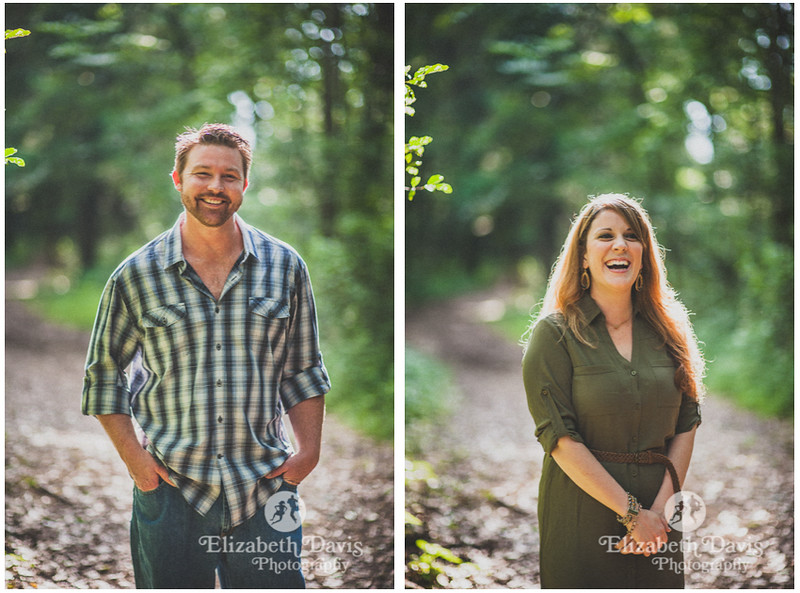 forest session in Tallahassee by Elizabeth Davis Photography
