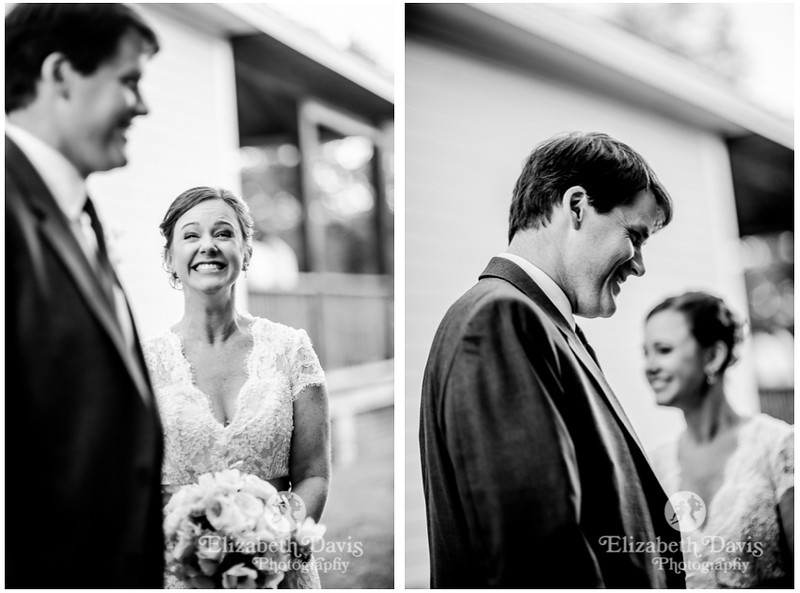 bride and groom candids immediately after ceremony | Bradley