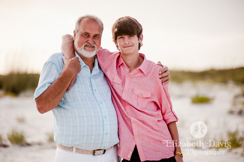 St. George Island Family Beach Session by Elizabeth Davis Photography