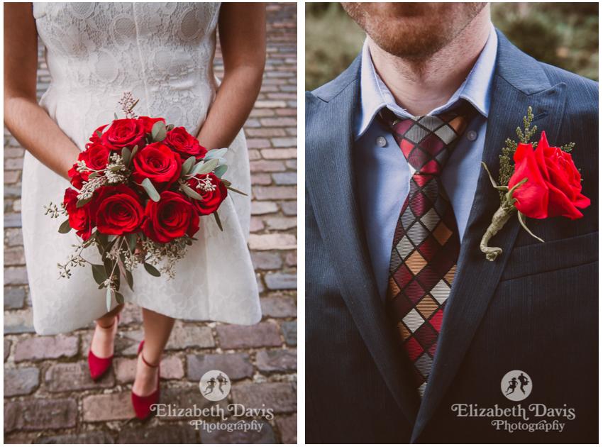 courthouse garden wedding   Elizabeth Davis Photography