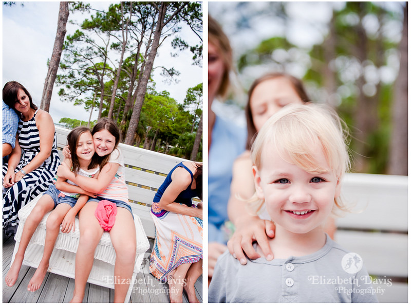 extended family photos with older kids | Florida | Elizabeth Davis Photography